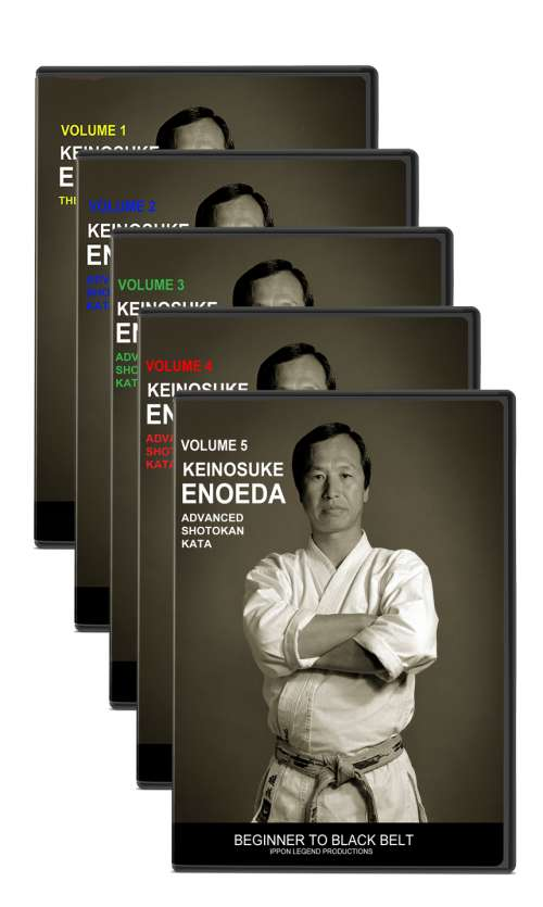 MASTER TEXT & KATA (Vol.1-5) - Enoeda